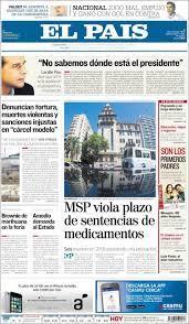 Newspaper El País (Uruguay). Newspapers in Uruguay. Sunday's edition, July  29 of 2018. Kiosko.net