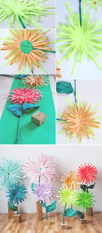 How To Create A Flower With Paper How To Make A Paper Flower