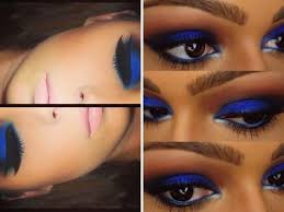 makeup tips for wearing royal blue