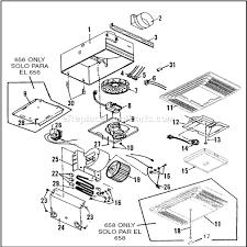 broan 656 parts list and diagram ereplacementparts com