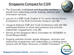 singapore compact for csr the csr movement in singapore  11 the corporate