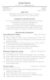 Summary Of Qualifications Resume Fascinating Summary Of Qualifications On Resume For Entry Level Section