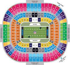 Bank Of America Stadium Map
