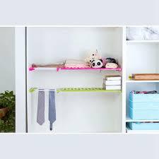 <b>Wardrobe Partition Storage Rack</b> Cabinets Holder Organizers Nail ...