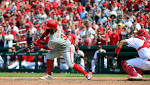 Odubel Herrera's on-base streak ends as Phillies downed by Cardinals