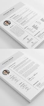Best Resume Templates 100 Best CV Resume Templates with Cover Letter iDevie 56