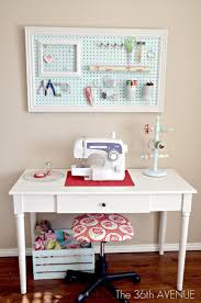 small spaces craft room storage ideas. adorable small sewing space and lots of pretty storage ideas the 36th avenue my spaces craft room