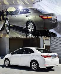 2016 Toyota Corolla (facelift) vs older model - Old vs New