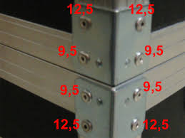 which rivets do you need for your flight case and how many flightcase brico com
