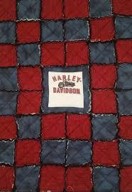 12 best Quilts motorcycles images on Pinterest   Quilt block ... & Harley Davidson Baby Rag Quilt Adamdwight.com