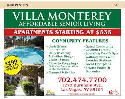Living Under Vegas Nevada Senior Guide Nevada Senior Guide