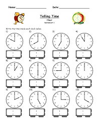 Telling Time  Tick tock   Worksheet   Education likewise Time Worksheets further  also Telling Time Worksheet   To The Half Hour   Telling time moreover  also Practice Telling Time Worksheets Worksheets for all   Download and moreover  as well Measurement Worksheet    Reading Time on an Analog Clock in 5 in addition Clock face   with minutes   Printable Worksheets   Pinterest in addition Time Mix Up   Worksheets  Math and Telling time together with Printable Clock Worksheets For Kindergarten Worksheets for all. on hour hand worksheet education com clock worksheets for preschool