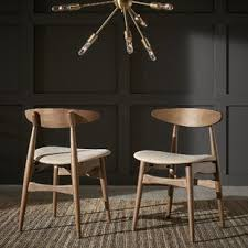 midcentury modern dining chairs. chastain side chair (set of 2) midcentury modern dining chairs u