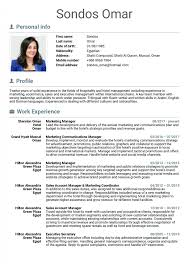 Unique Hotel Resume Sample Management Example Housekeeping ...