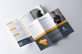 Tri Fold Brochure Inspiration 20 Cool 3 Fold Brochures Designs