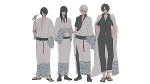 Yorozuya yo eien nare (gintama: Hd Wallpaper Anime Gintama Gintoki Sakata Kotaro Katsura Sakamoto Tatsuma 4k Best Of Wallpapers For Andriod And Ios