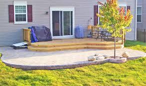 Patio Vs Deck Resale Value Home Design Ideas