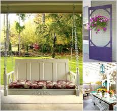 27 creative ways to use old doors as outdoor decorations home bnc