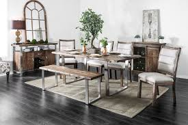 furniture of america dining sets. Furniture Of America Mandy CM3451A-T Rustic Dining Set | Sets