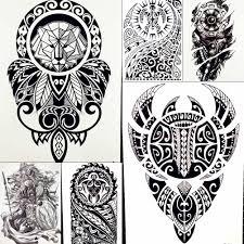 лев король воин временные татуировки наклейки для мужчин рука робота