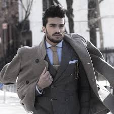 Elegant winter outfits designs 2018 ideas Fashionssories Mens Winter Outfits Outfit Style Ideas Grey Suit With Wool Coat Outfit Trends 60 Winter Outfits For Men Cold Weather Male Styles