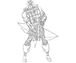 Small Picture Trend Hawkeye Coloring Pages 44 In Free Coloring Book with Hawkeye