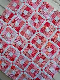 31 best Red and White Quilts images on Pinterest | Comforters ... & 'Strawberry Patch' by Red pepper quilts by blissy Adamdwight.com