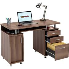 computer desk with storage  a filing drawer home office