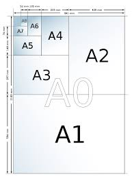 a4 paper size in inches a1 a2 a3 a4 learn about paper sizes if youd like to know more