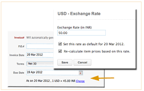 Invoice Price Calculator Fresh Updates On Exchange Rate In Zoho Invoice And Zoho