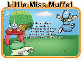 Little Miss Chart Little Miss Muffet Spaceright Europe Ltd