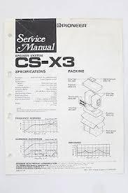 pioneer cs speakers zeppy io pioneer cs x3 original speaker system service manual guide wiring diagram o68a