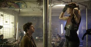 Steven Spielberg's <b>Ready Player One</b> improves immensely on the ...