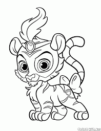 Small Picture Coloring page Palace pets