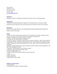 Resume For Maintenance Supervisor - Template - Template. Resume ... Resume Templates : Apartment Maintenance Resume Examples 16 .