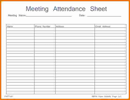 attandence sheet meeting attendance sheet jp designs