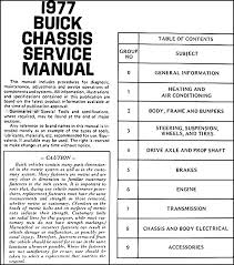 1977 buick repair shop manual body manual cd rom find out what is covered in the mechanical manual by clicking here to see the table of contents