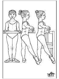 Ballet 12 Kleurplaat Ballet