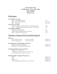 Basic Resume Template Pdf Http