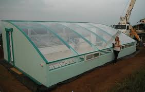 what is the solar greenhouse and how big is it