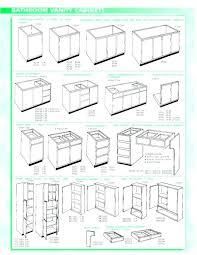 standard sink base cabinet sizes standard bathroom cabinet sizes