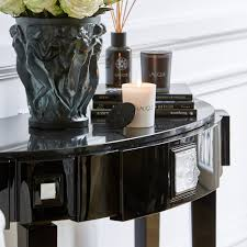 half moon console table. Masque De Femme Console Table Half Moon