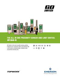 go switch brochure topworx pdf catalogue technical topworx limit switch wiring diagram at Topworx Limit Switch Wiring Diagram