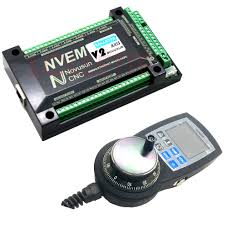 <b>NVEM</b> V2 version 6 Axis <b>CNC</b> Controller <b>MACH3</b> Ethernet Interface ...
