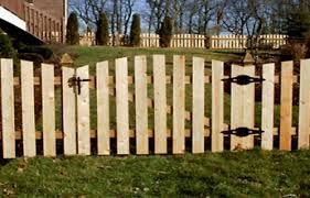 wood picket fence gate. Picket Fence Gate Wood D