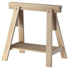 Full Size of Home Design:winsome Wooden Trestle Legs Ikea Linnmon Gray Desk  Table 59x30 ...