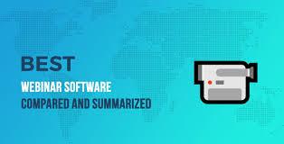 Webinar Design Best Webinar Software In 2020 Compared And Summarized