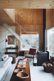 Small Picture the makings of modern cabin sfgirlbybay Cabin Plywood walls