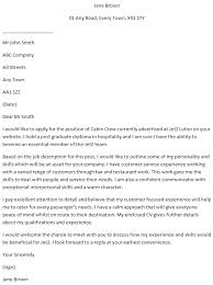 Cabin Crew Cover Letter Cabin Crew Cover Letter Example Learnist Org