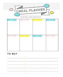 menu planner template free daily menu planner template daily menu planner template